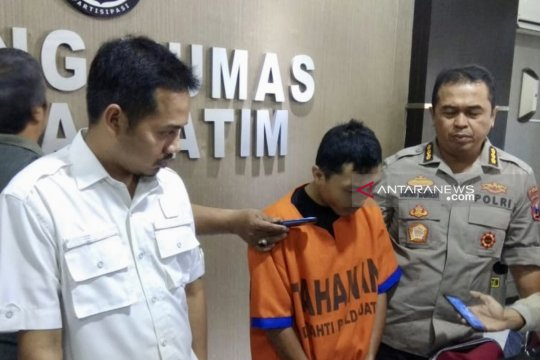 Polda Jatim tangkap pembina pramuka pelaku pencabulan belasan anak