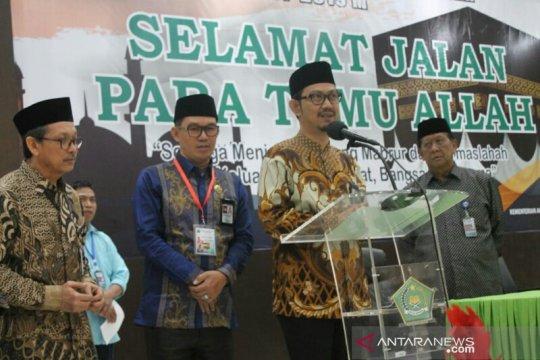 JCH gabungan Papua Barat-Sulsel bertolak ke Mekkah