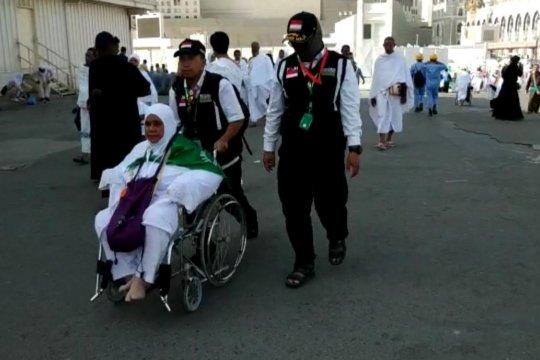 Jamaah haji rawan terpisah dari rombongan karena keletihan