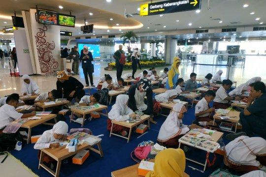 Gandeng Unicef, Bandara Juanda gelar lomba menggambar pada HAN 2019