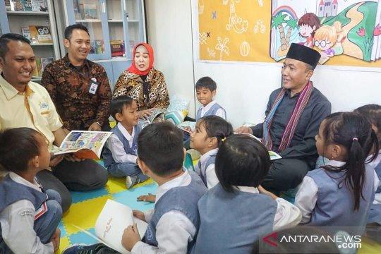 Jasindo mendirikan kampung baca di Lombok Barat