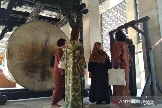 Bedug Masjid Istiqlal tak lagi ditabuh