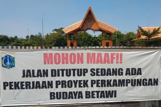 Replika perkampungan Betawi Setu Babakan ditarget selesai akhir 2019