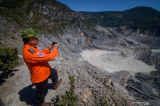 Peningkatan aktivitas vulkanik Gunung Tangkuban Parahu