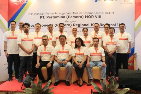 Pertamina dan Pos Indonesia kerja sama untuk wilayah timur Indonesia