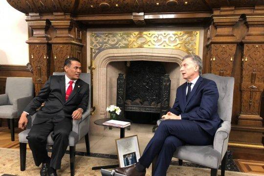 Mentan diterima Presiden Argentina, sepakati ekspor buah tropis