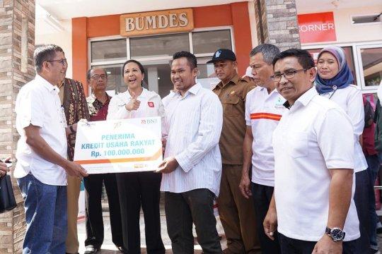 Menteri BUMN targetkan bangun 100 BUMNShop di Sukabumi