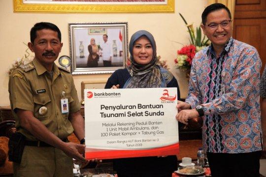 Bank Banten bantu ambulance bagi korban terdampak tsunami