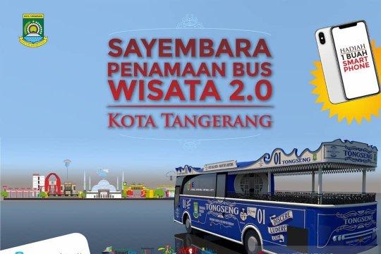 Pemkot Tangerang ajak warga terlibat penamaan bus wisata 2.0