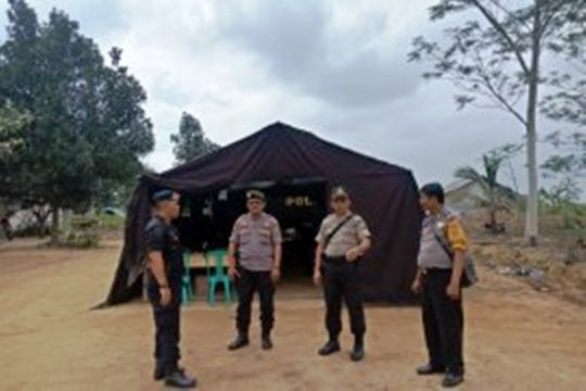 Personel gabungan TNI dan Polri masih bersiaga di Register 45 Mesuji