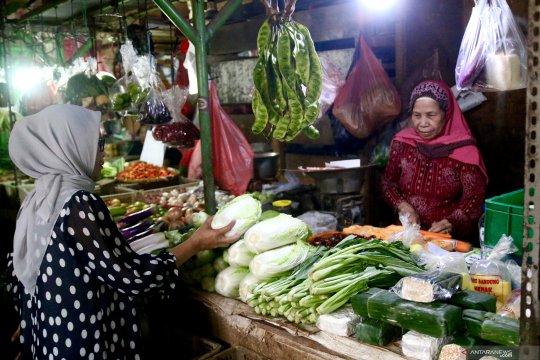 Produk pertanian dan peternakan Pasar Benhil aman dikonsumsi