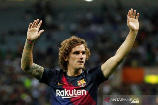 Susunan pemain Bilbao vs Barca, Griezmann dan De Jong debut