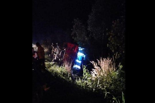 Polisi: Kecelakaan bus calon haji Palangka Raya akibat kelalaian sopir