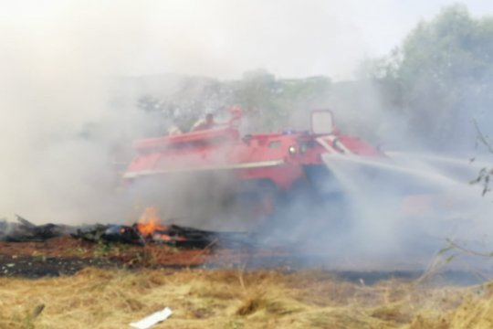 Tank Damkar asal Rusia diproyeksi mampu atasi Karhutla