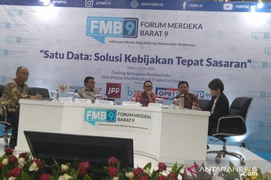 Perpres Satu Data Indonesia pangkas tumpang tindih data