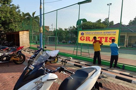 Parkir di Kantor Wali Kota Jakarta Utara gratis