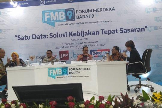 Kominfo siapkan keamanan penunjang Satu Data Indonesia