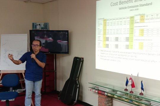 Pencemaran udara Jakarta berdampak terhadap perubahan iklim