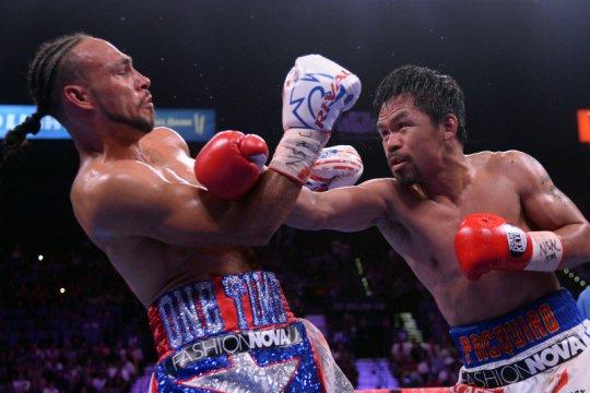 Pacquiao dan Spence Jr resmi umumkan duel di Las Vegas 21 Agustus