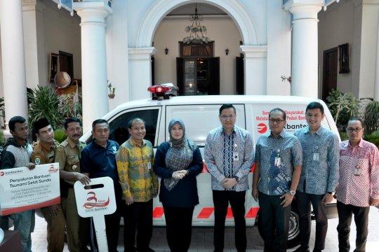Bank Banten serahkan bantuan untuk korban tsunami Pandeglang