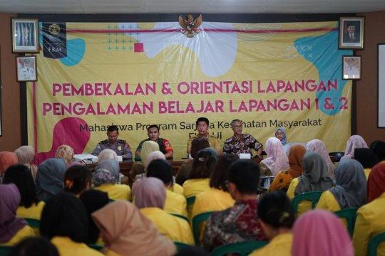 269 mahasiswa FKM UI belajar lapangan di Bogor