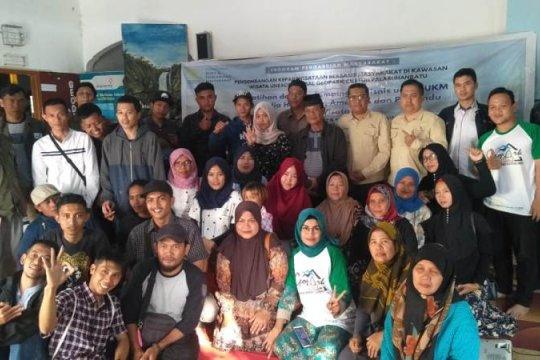 Pelaku usaha Geopark Ciletuh Sukabumi dapat pelatihan keuangan