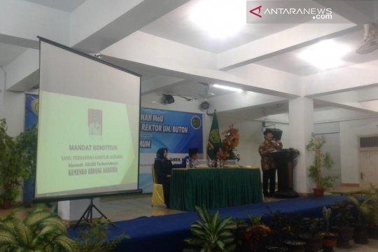 Mantan Ketua MK beri kuliah umum di UM Buton