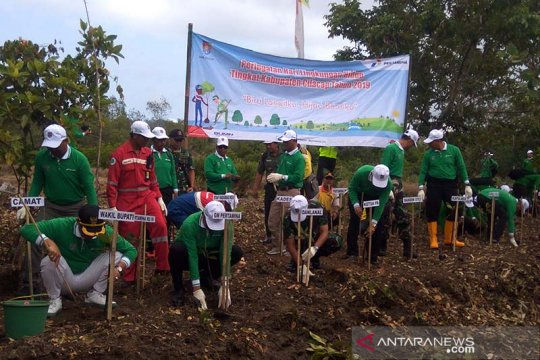 1.000 tanaman mangrove ditanam di kawasan Segara Anakan Cilacap