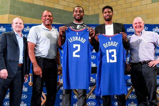 Duet Leonard-George ingin Clippers tak sekadar rajai LA