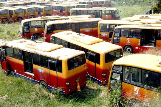 Transjakarta pastikan bus mangkrak di Ciputat-Bogor bukan miliknya