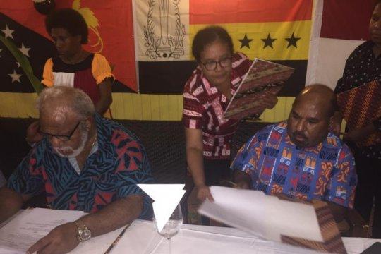 Papua--Madang PNG tandatangani nota kesepahaman provinsi kembar