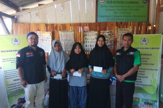 ACT bantu guru daerah terpencil di Kabupaten Alor