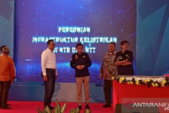 Menteri ESDM resmikan infrastruktur kelistrikan di Nusa Tenggara