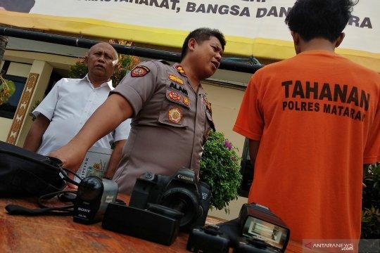 Polres Mataram tangkap pencuri kamera studio foto