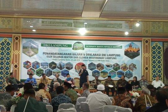 Wali Kota Bandarlampung dukung Lampung jadi Ibu Kota RI