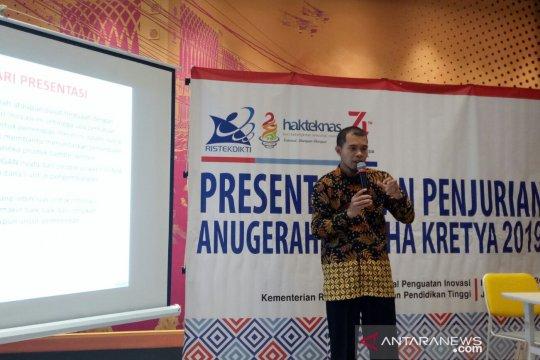 Kemristekdikti seleksi tujuh inovator Anugerah Labdha Kretya 2019