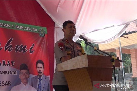 Polda Jabar memproses viral pengibaran bendera HTI di sekolah Sukabumi