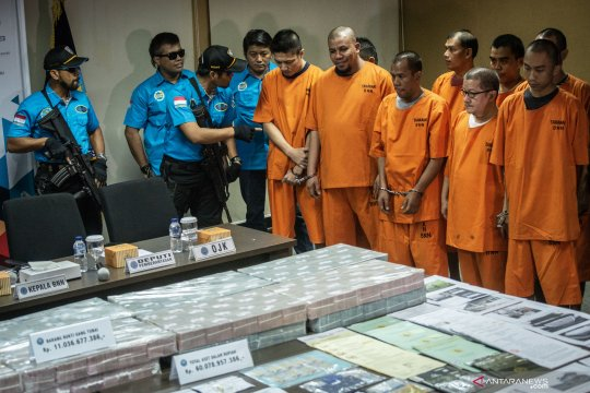 BNN ungkap Tindak Pidana Pencucian Uang dari kejahatan narkotika