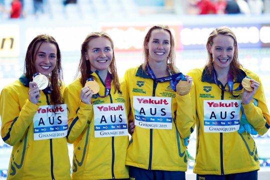 Rekor dunia pecah lagi, kali ini oleh tim renang putri Australia