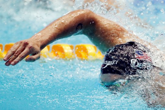Dressel rajai nomor 100m gaya bebas