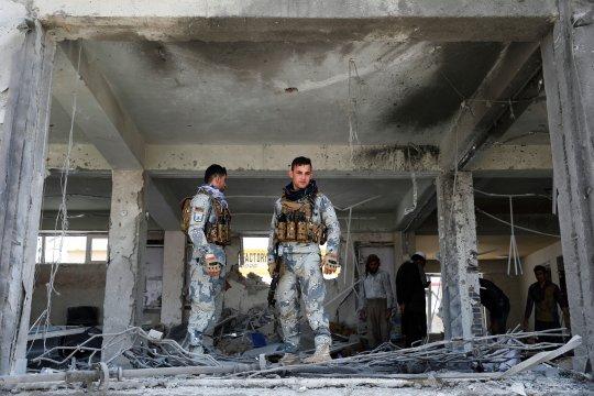 Tiga bom guncang Ibu Kota Afghanistan