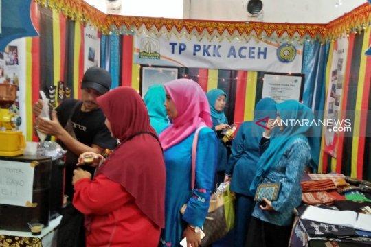 Kopi gayo khas Aceh diminati pada pameran HKG-PKK di Padang
