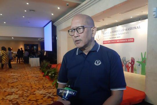 Kepala YKI : Sarankan pola hidup sehat untuk turunkan risiko kanker