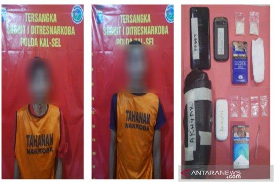 Polda Kalsel ringkus dua pengedar sabu-sabu di Banjarmasin