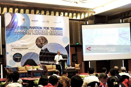 Menpar: Banyuwangi jadi percontohan penerbangan umum untuk pariwisata