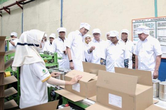 Menko Perekonomian : Pisang Mas Lampung bisa dicontoh daerah lain