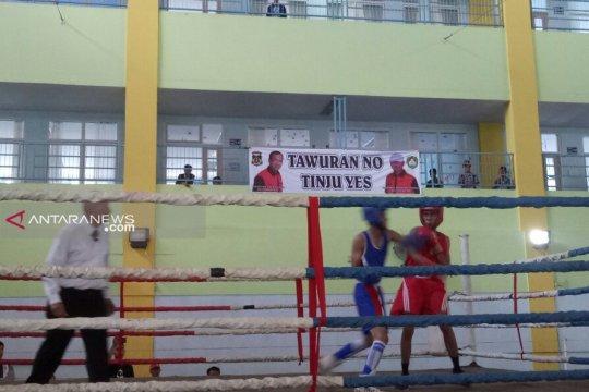 Pertina Palembang cari bibit atlet lewat kejuaraan tinju pelajar