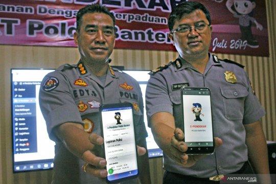 Peluncuran aplikasi laporan polisi