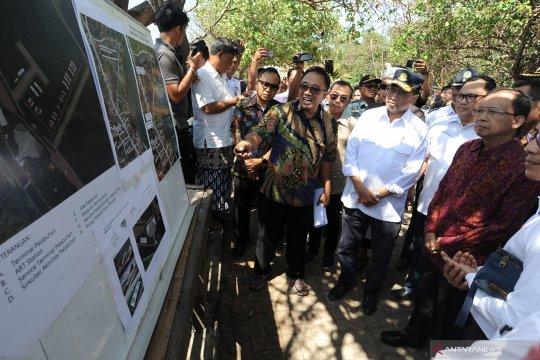 Menhub: Pembangunan infrastruktur dasar Dermaga Sanur gunakan APBN