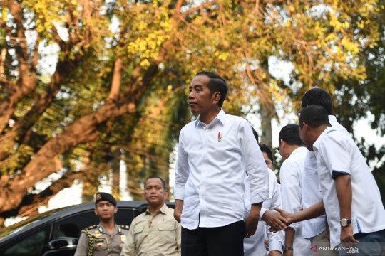 Pertemuan Presiden terpilih dengan TKN Joko Widodo - KH Ma'ruf Amin